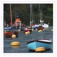 The harbour at Fowey - Click here for a larger picture