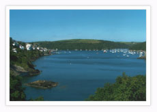 Fowey harbour - Click here for a larger picture